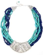 Silver Multi Bead Tribal Necklace Merke: Talullah Tu Tilstand: Nytt!  Frakt: 50,-