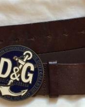 D&G skinnbelte