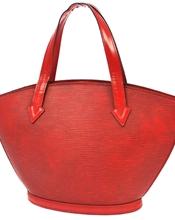 Hei,  Selger en fin Saint Jacques fra Louis Vuitton i rødt epi skinn. Den er brukt, men i fin stand,..