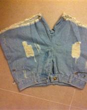 Ubrukt jeanssho..