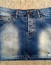 Jeans skjørt - ..