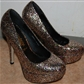 New Look Glitter pumps