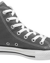 Grå Converse