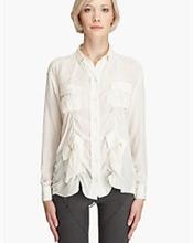 Flott silkeskjorte fra Acne.  Litt brukt, men i god stand.  Størrelse: 36.