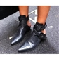 Helt ubruke boots, str 38  http://www.choies.com/product/cool-punk-pointed-slippers