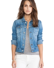 Robyn Jacket Merke: AG Adriano Goldschmied Størrelse: Medium Materiale: 100 % bomull Tilstand: Ny/ub..