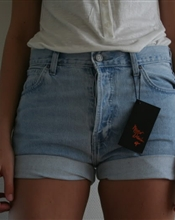 Highwaist denim..