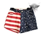 American flag shorts