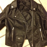 Biker-jakke