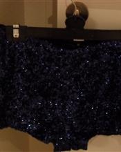 Paljett shorts