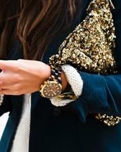 Zara Gold Sequi..