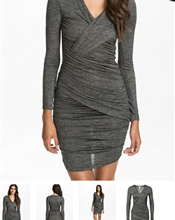 NLY draped dres..