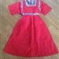 Vintage kjole rød