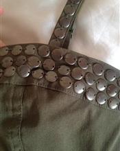 Army-grønn kjol..