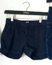 mørkeblå shorts