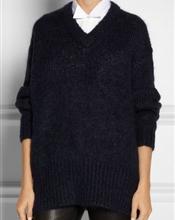 Selger min helt nye, ubrukte Acne Essie Kid Mohair genser i fargen navy. Lapp henger på :-)   Genser..