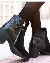 Semsket boots